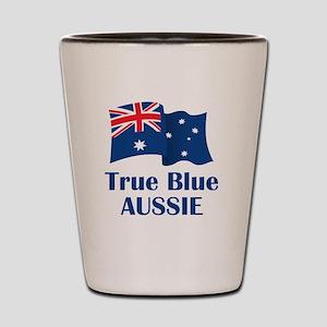 True Blue Aussie Shot Glass