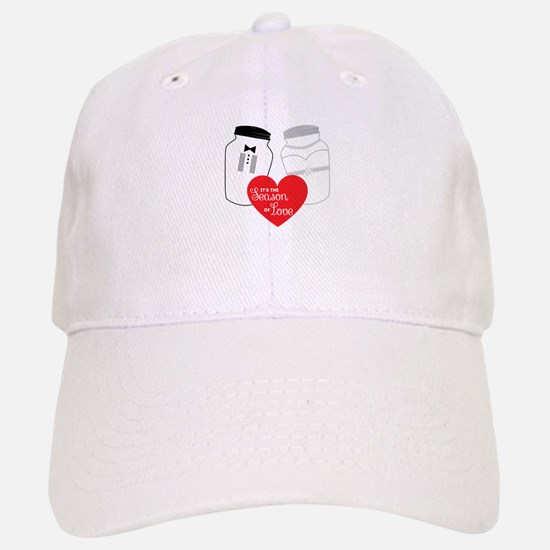 Season of love, salt and pepper Baseball Baseball Baseball Cap
