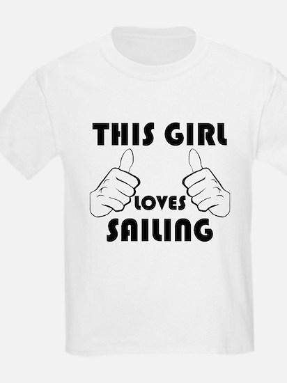 This Girl Loves Sailing T-Shirt