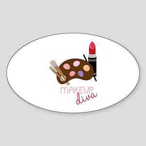 Makeup Diva Sticker