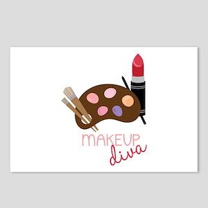 Makeup Diva Postcards (Package of 8)