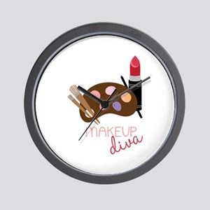 Makeup Diva Wall Clock