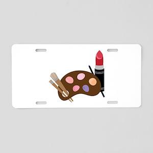 Makeup Pallet Aluminum License Plate
