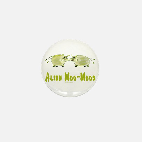 Alien Moo-Moos Mini Button