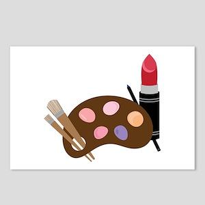 Makeup Pallet Postcards (Package of 8)