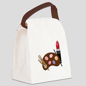Makeup Pallet Canvas Lunch Bag