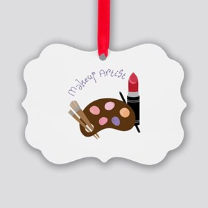 Makeup Artist Ornament