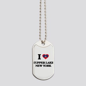 I love Tupper Lake New York Dog Tags