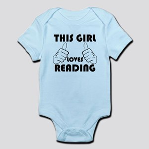 This Girl Loves Reading Body Suit