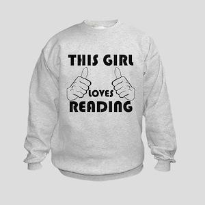 This Girl Loves Reading Sweatshirt