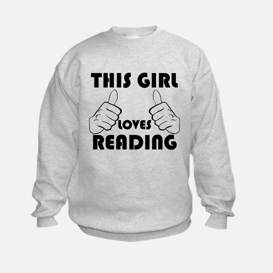 This Girl Loves Reading Sweatshirt