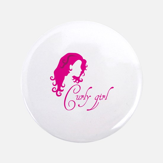 Curly girl Button