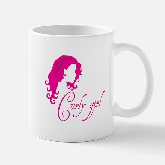 Curly girl Mugs