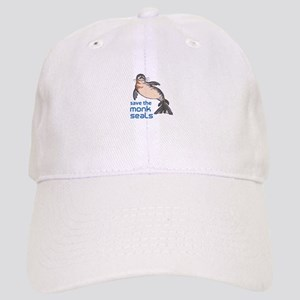 Save The Monk Seals Baseball Cap