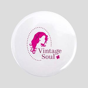 Vintage soul cameo Button