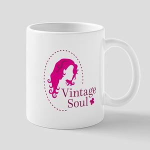 Vintage soul cameo Mugs