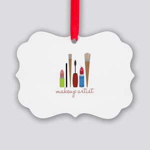 Makeup Artist Tools Ornament