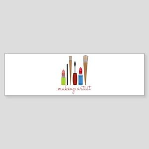 Makeup Artist Tools Bumper Sticker