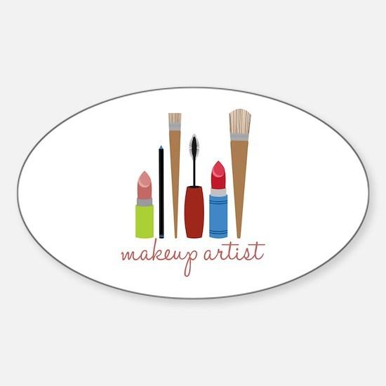 Makeup Artist Tools Decal