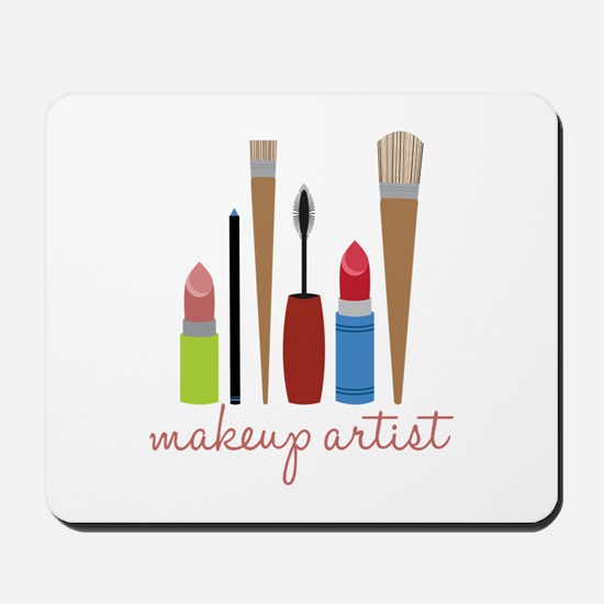 Makeup Artist Tools Mousepad