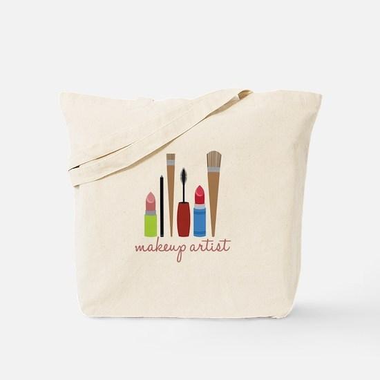 Makeup Artist Tools Tote Bag