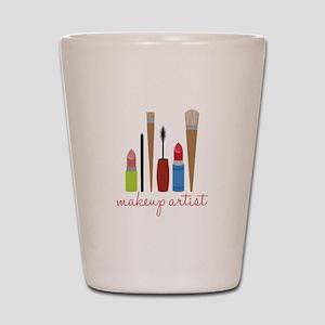 Makeup Artist Tools Shot Glass