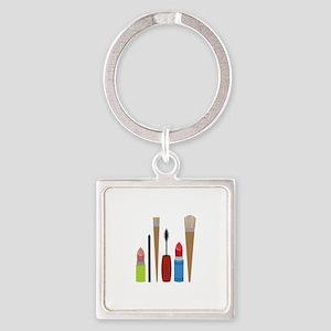 Makeup Tools Keychains