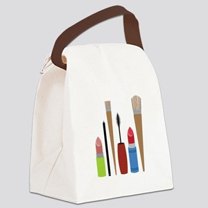 Makeup Tools Canvas Lunch Bag