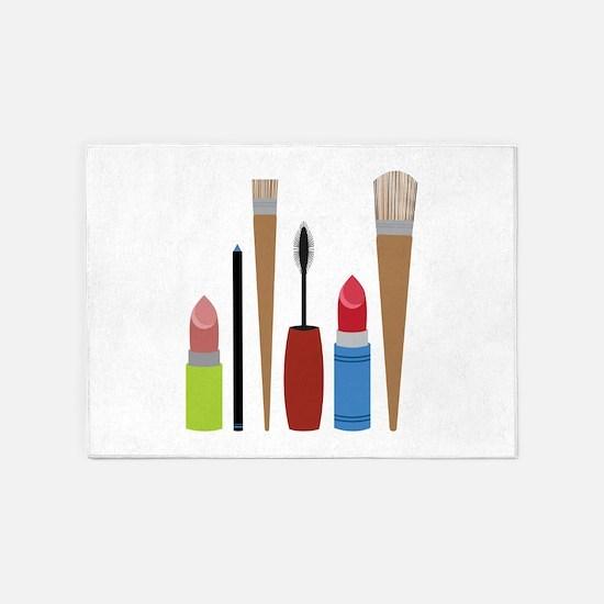 Makeup Tools 5'x7'Area Rug