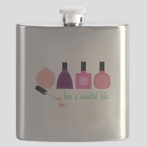 Colorful Life Nail Polish Flask