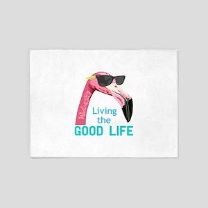 Living The Good Life 5'x7'Area Rug