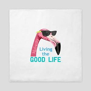 Living The Good Life Queen Duvet