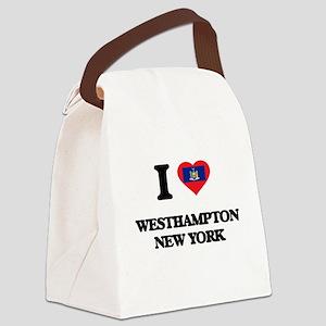 I love Westhampton New York Canvas Lunch Bag