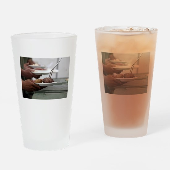 Summertime Grilling Drinking Glass