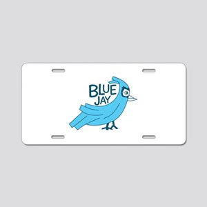Bluejay Aluminum License Plate