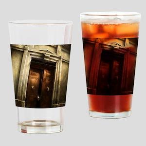 Urban Abstract Art Painting Illustr Drinking Glass