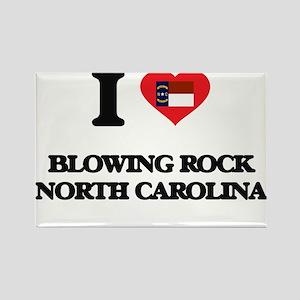 I love Blowing Rock North Carolina Magnets