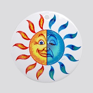 BiPolar Solar Ornament (Round)