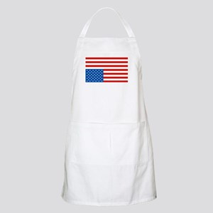 Upside Down USA Flag BBQ Apron