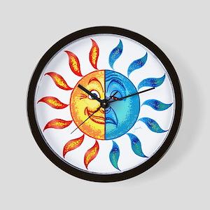 BiPolar Solar Wall Clock