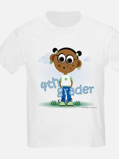 4th Grade Girl (aa) T-Shirt