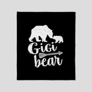 Gigi Bear Throw Blanket