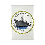 USS Fulton (AS 11) Rectangle Magnet