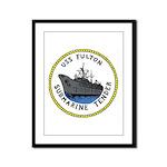 USS Fulton (AS 11) Framed Panel Print