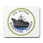 USS Fulton (AS 11) Mousepad