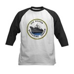 USS Fulton (AS 11) Kids Baseball Jersey