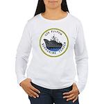 USS Fulton (AS 11) Women's Long Sleeve T-Shirt