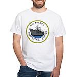 USS Fulton (AS 11) White T-Shirt