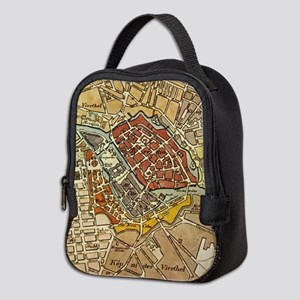 Vintage Map of Berlin Germany ( Neoprene Lunch Bag