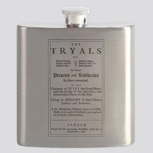 Historical Pirate Trials Flask